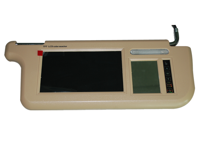 车载遮阳板显示器PT-LCD07/09/12