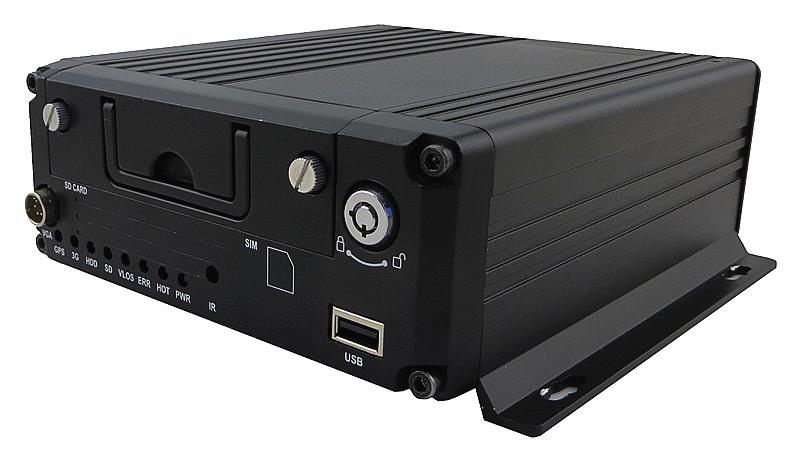 8路IPC网络高清车载硬盘录像机P
